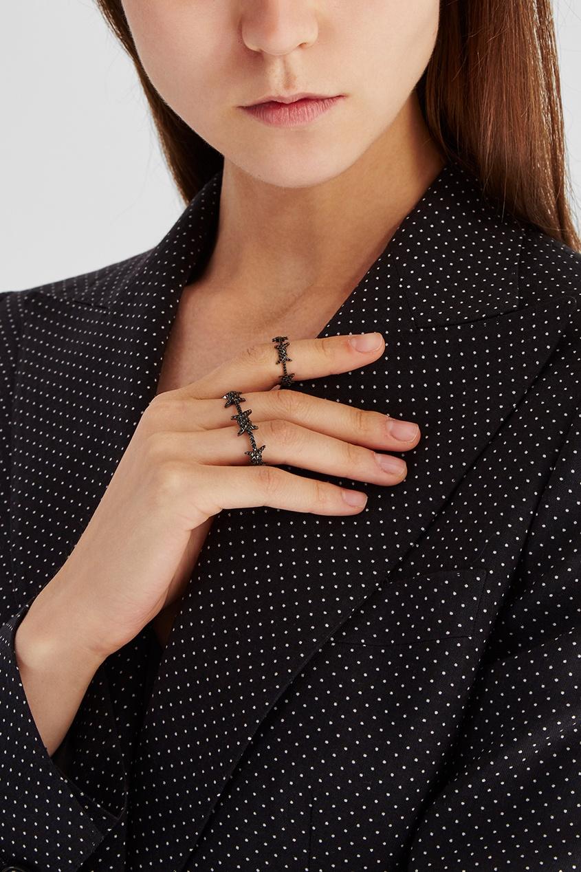 Caviar Jewellery Кольцо на два пальца True Love caviar jewellery браслет true love