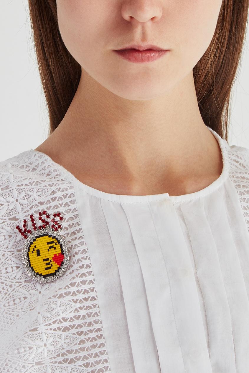 Shourouk Брошь Kiss