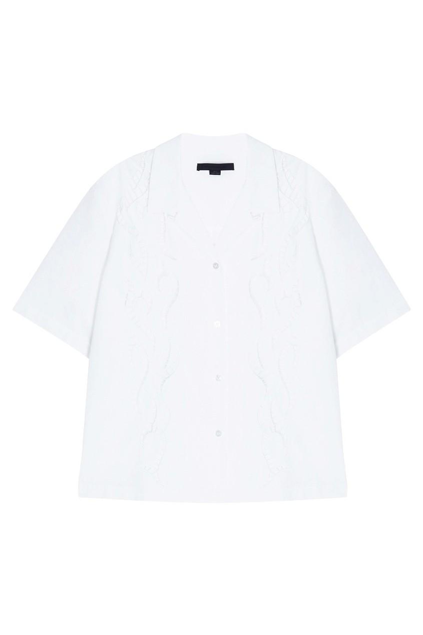 Alexander Wang Хлопковая блузка блузка pinetti блузка