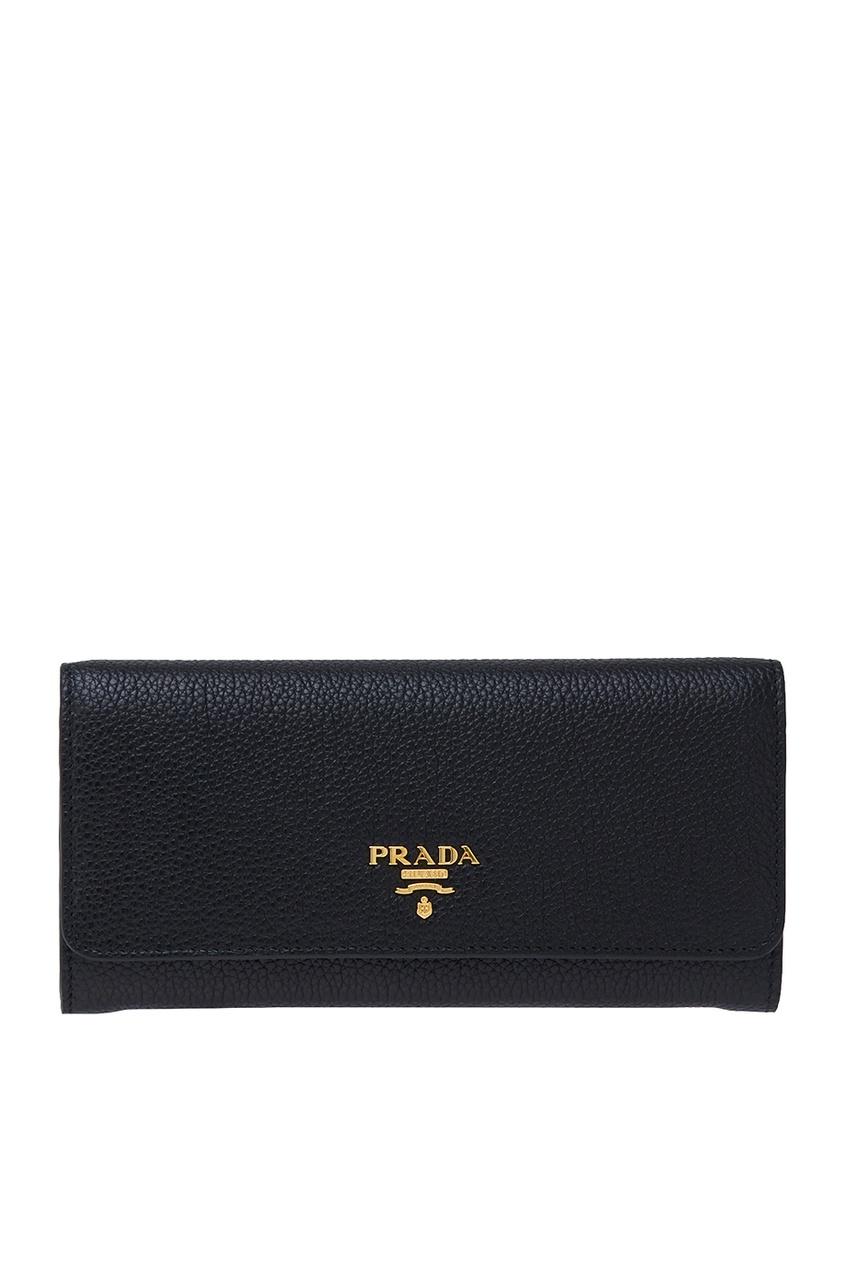 женский кошелёк prada