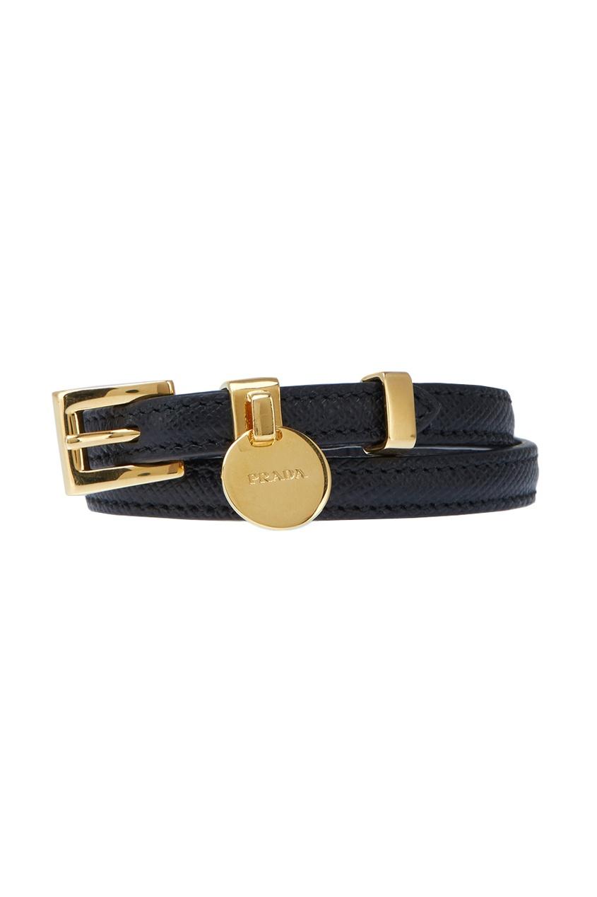 Prada Кожаный браслет