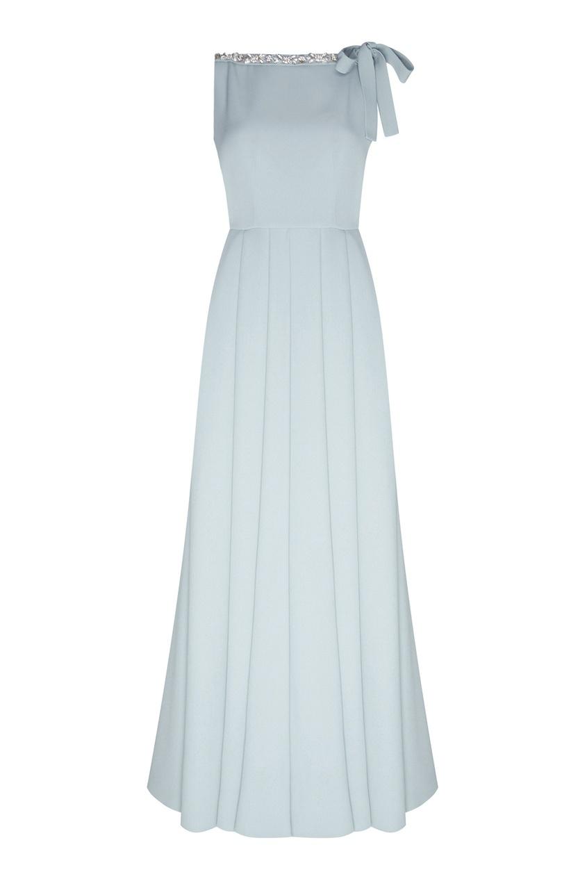 Prada Шелковое платье