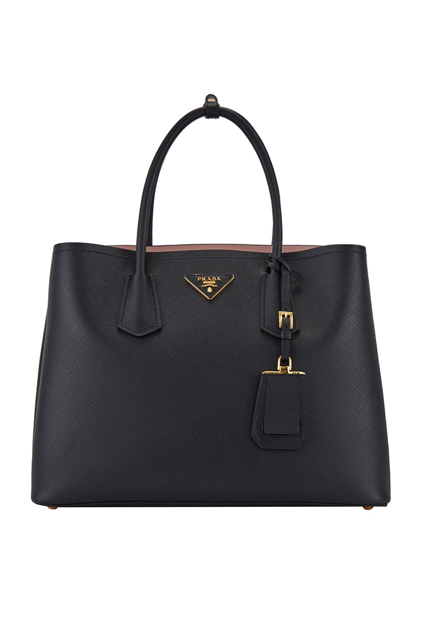 Кожаная сумка Double Bag