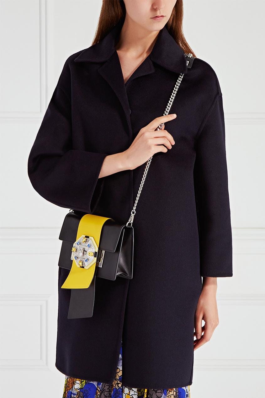 Кожаная сумка Jewels Ribbon