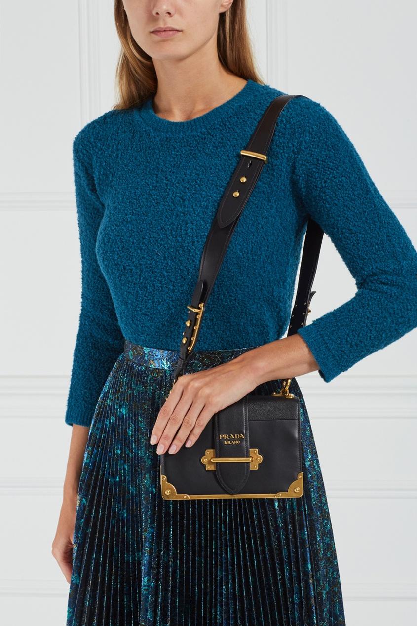 Кожаная сумка Cahier