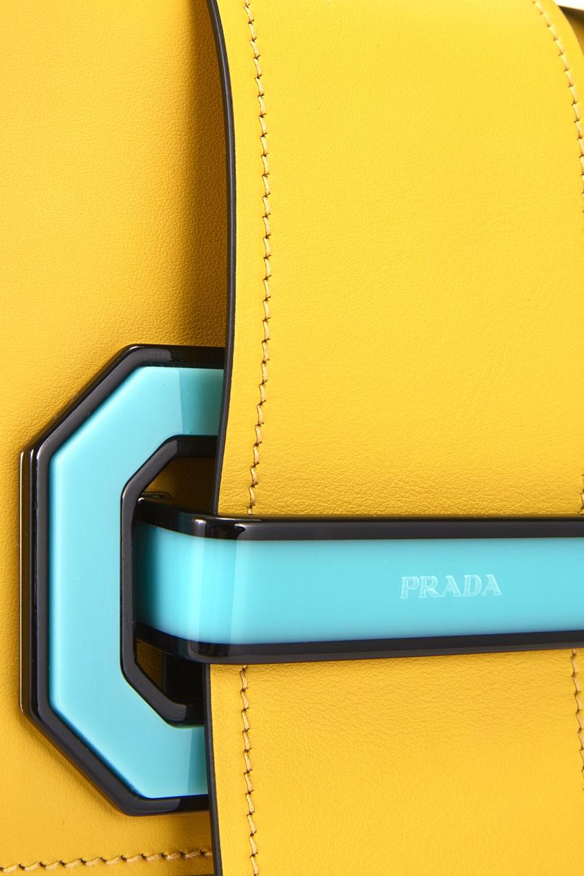 Кожаная сумка Plex Ribbon