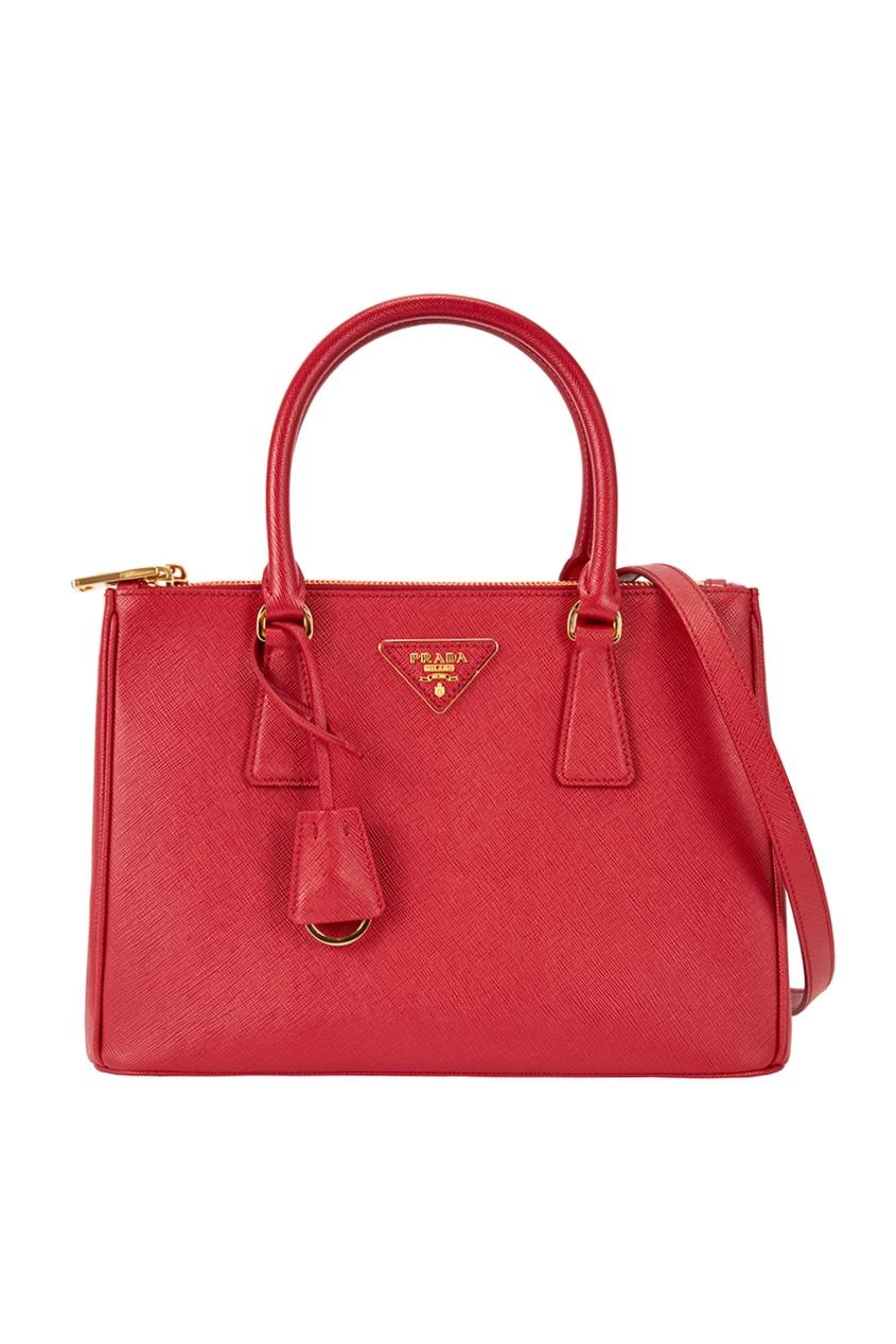Prada Кожаная сумка Galleria сумка prada nms14 v1tn6 n5887s