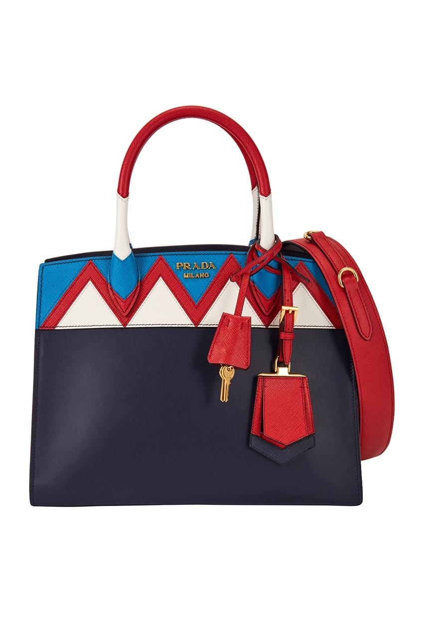 Кожаная сумка Zig Zag Esplanade