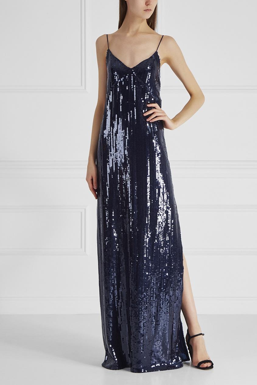 Платье Nina Ricci 17550312 синий фото