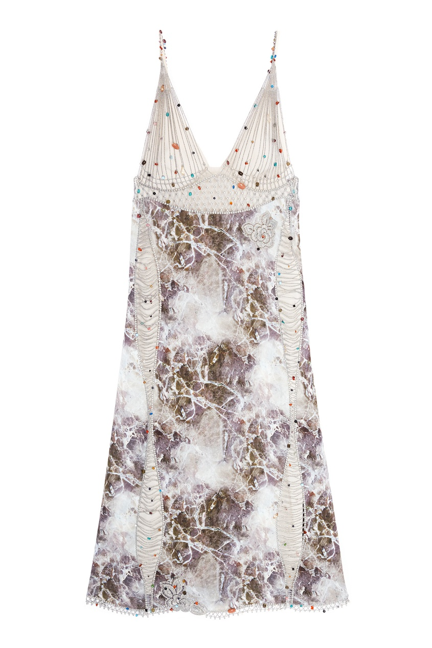 Christopher Kane Шелковое платье christopher kane прямое платье