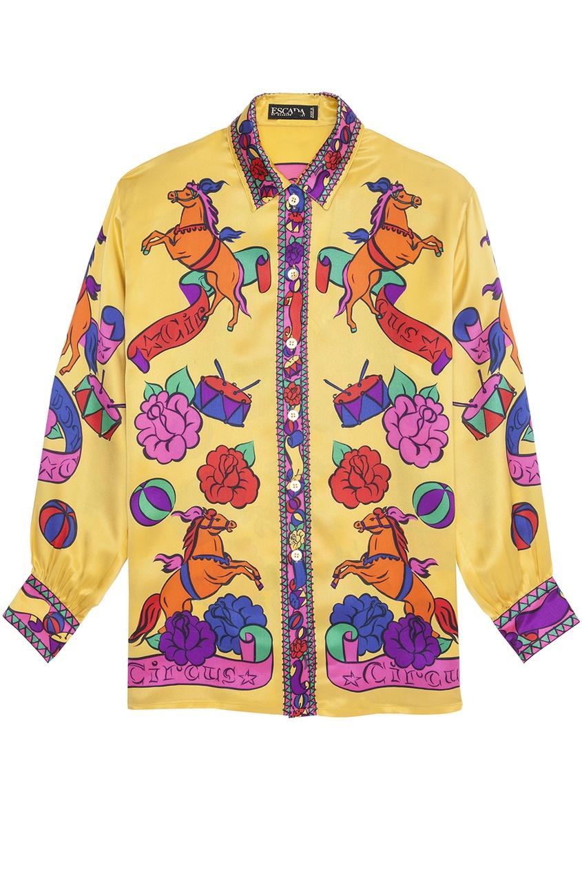 Шелковая рубашка (80-е гг.)