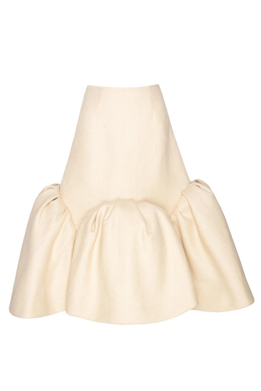 Льняная юбка Delpozo
