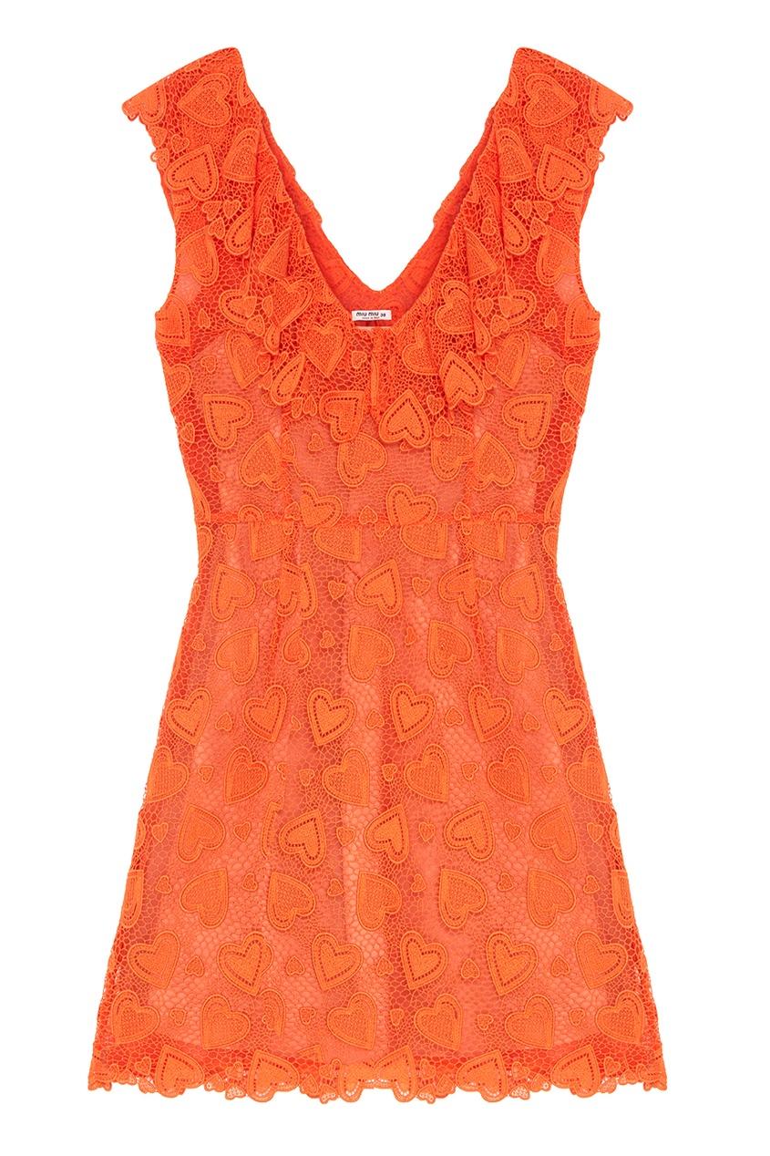 Miu Miu Хлопковое платье