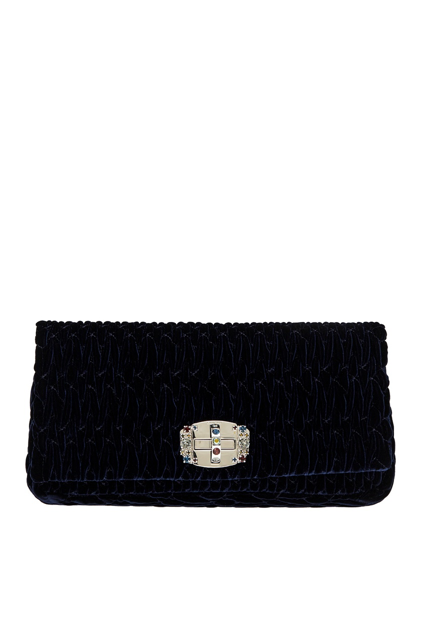 Бархатная сумка Cristal