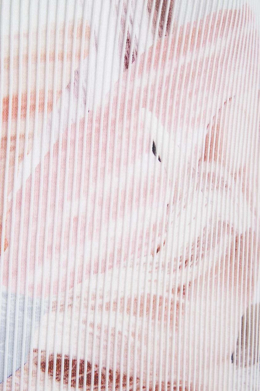 Toni Maticevski Платье с воланами newest luxury crystal clutch bag flower female evening bag rhinestone diamond studded handbags women wedding bridal party purse