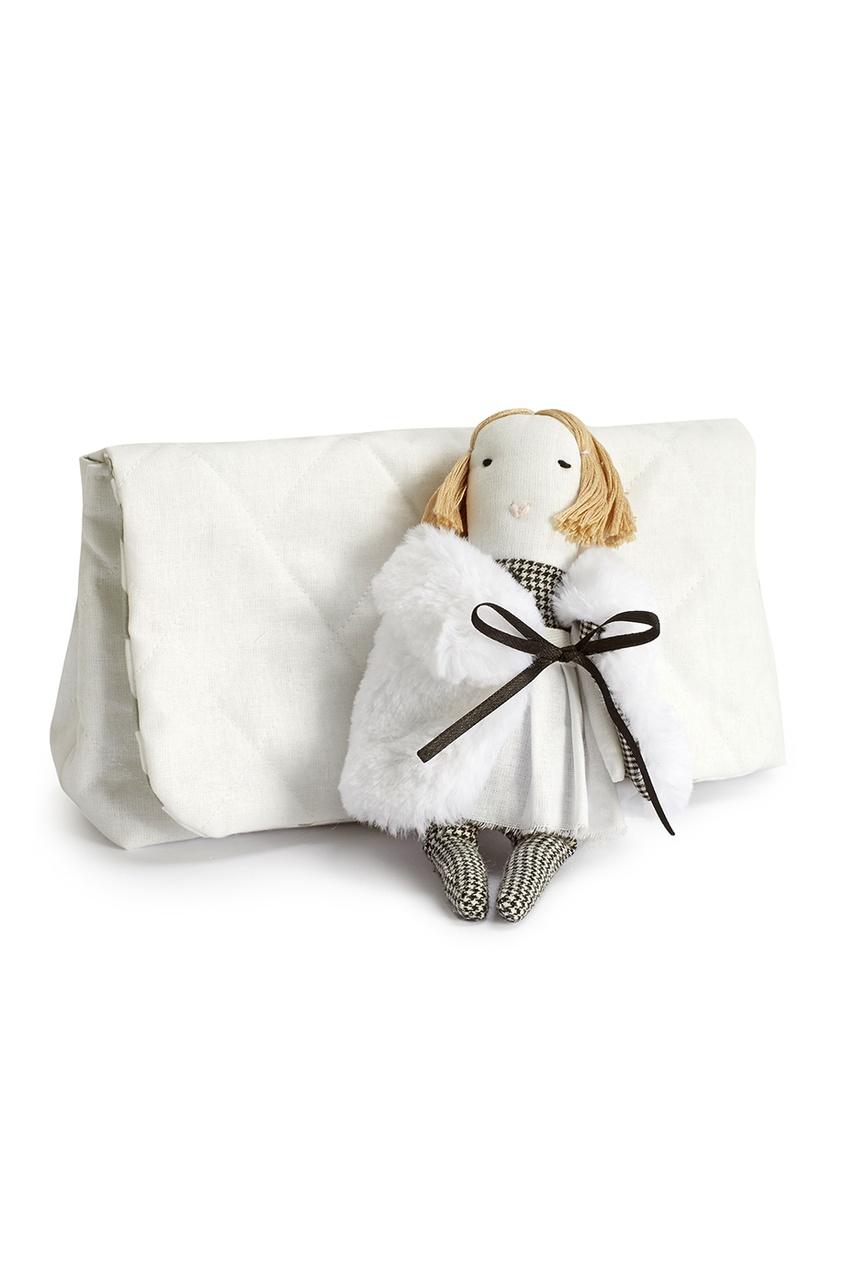 Игрушка Мини-девочка в сумочке