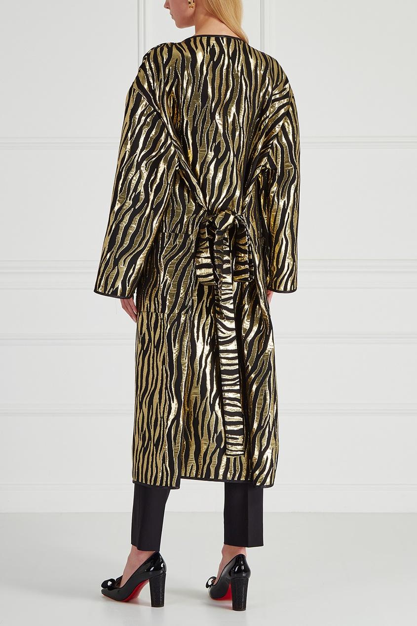 Шелковое пальто-халат Josephine