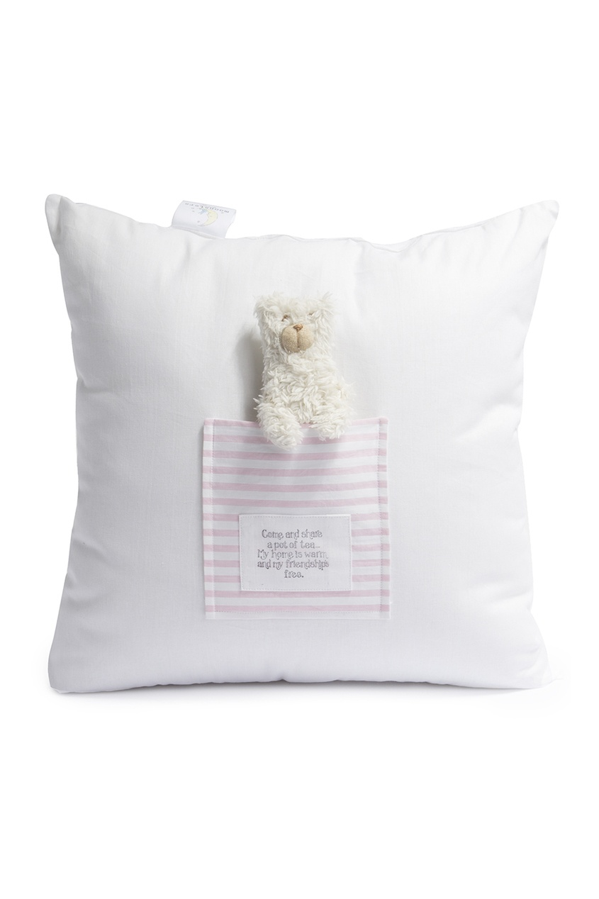 Подушка с мягкой игрушкой