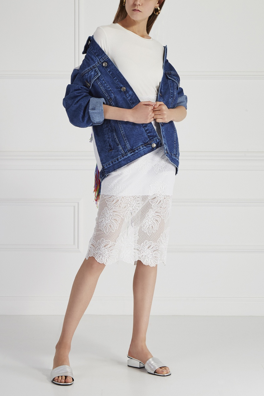 Куртка из денима Ethnic Woman