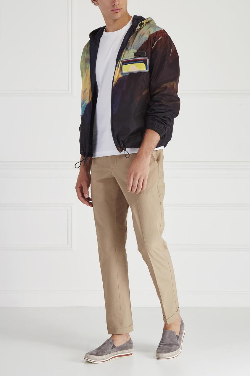 Prada Однотонная куртка
