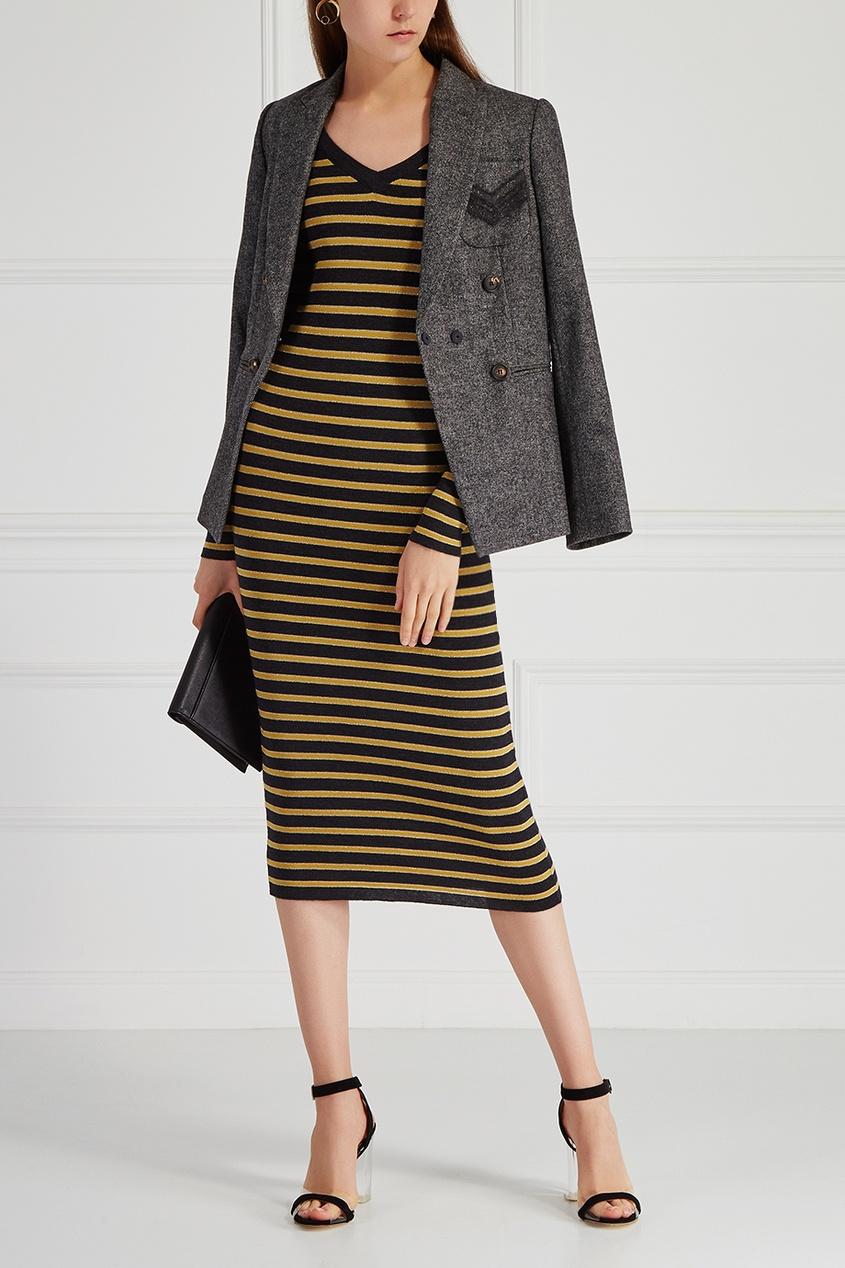 Платье из шерсти и кашемира