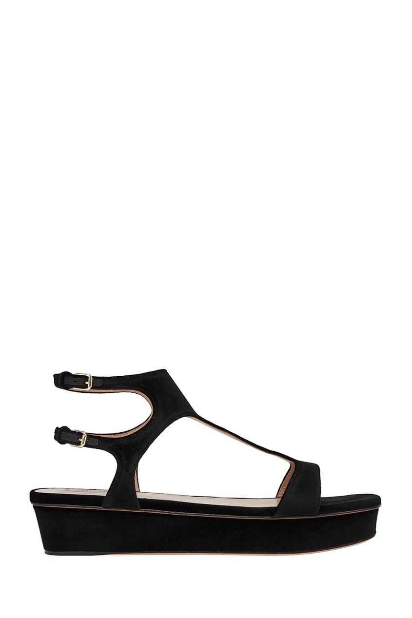 Valentino Сандалии на толстой подошве сандалии velvet сандалии на обычной подошве