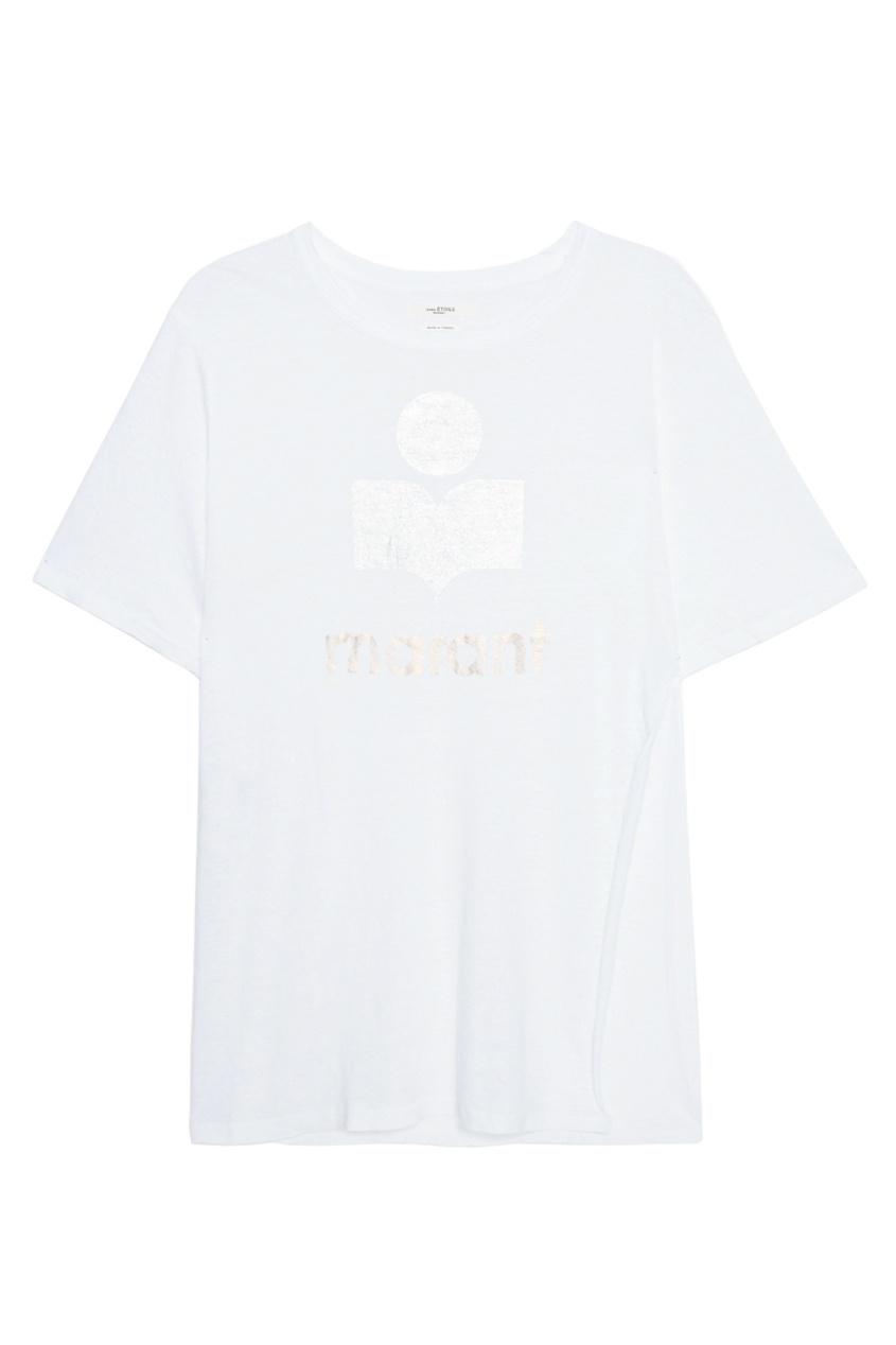 Льняная футболка Kuta