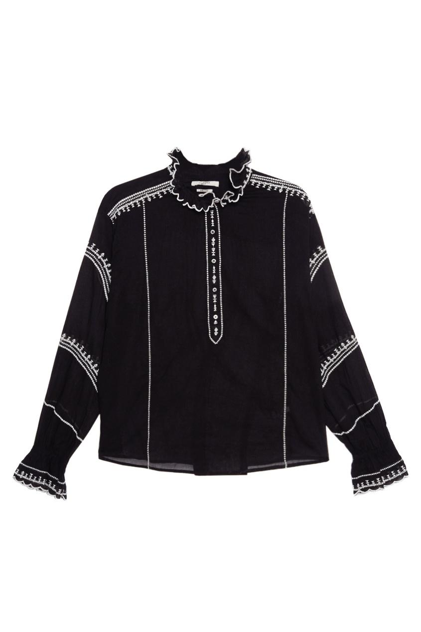 Хлопковая блузка Louna