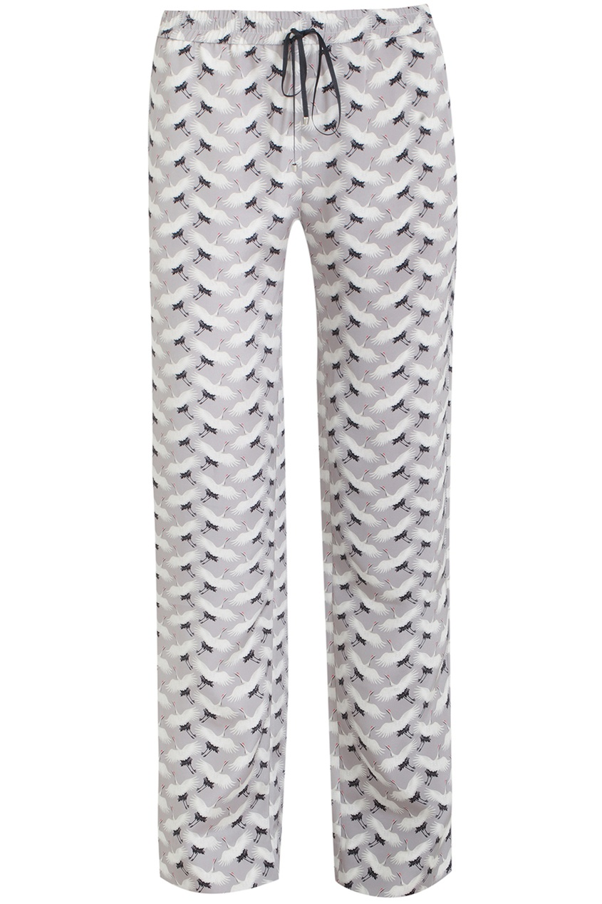 Holly Fulton Шелковые брюки