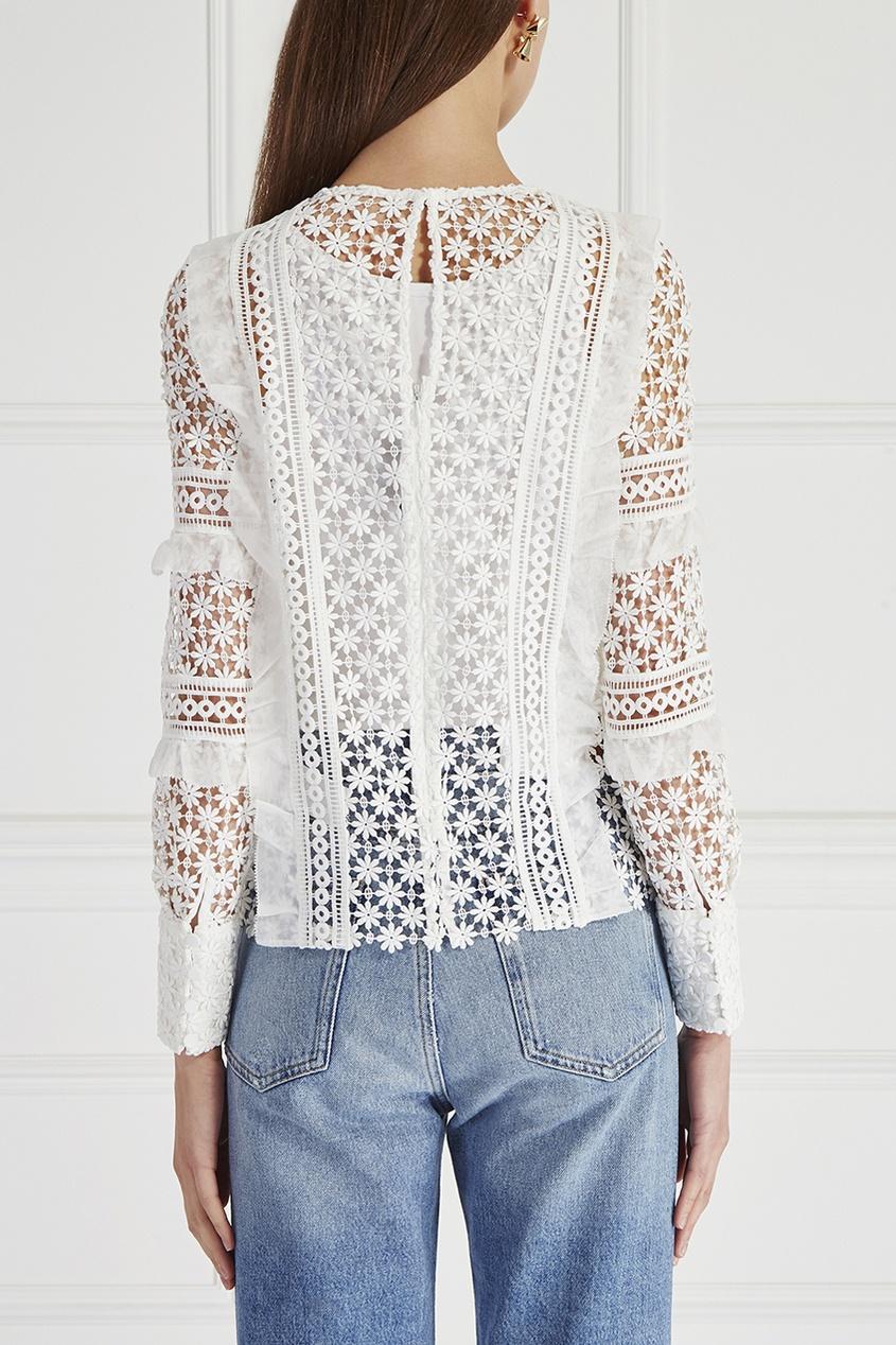 полупрозрачная-блузка