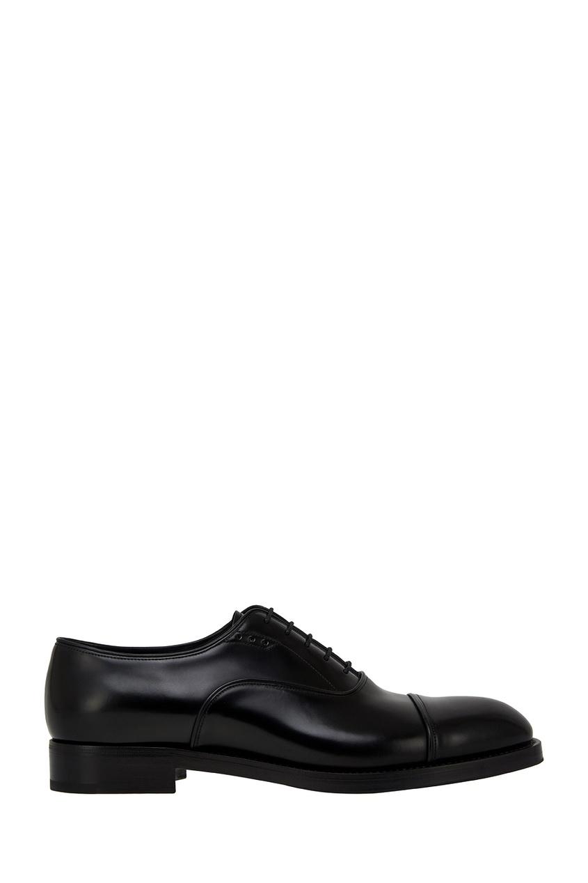 Prada Кожаные оксфорды ботинки оксфорды кожаные prangley walk