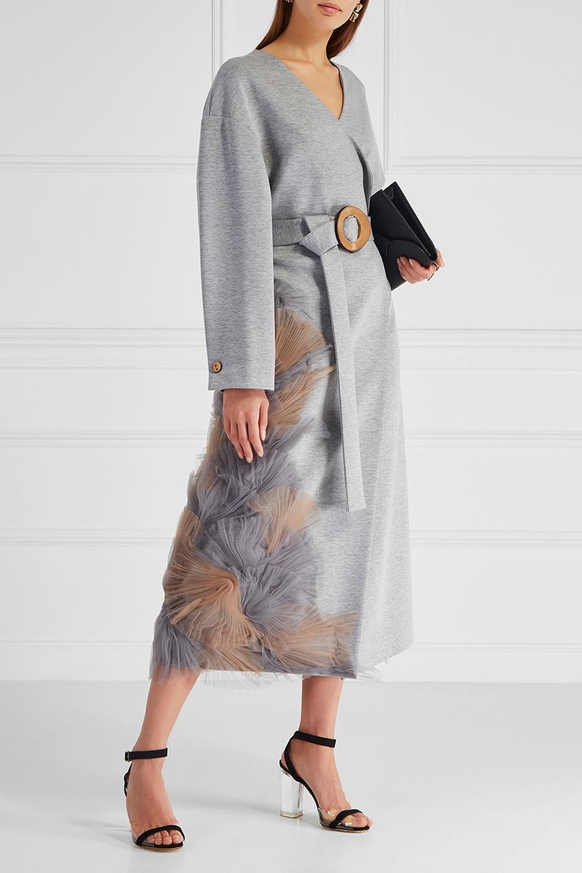 Ruban Однотонное пальто