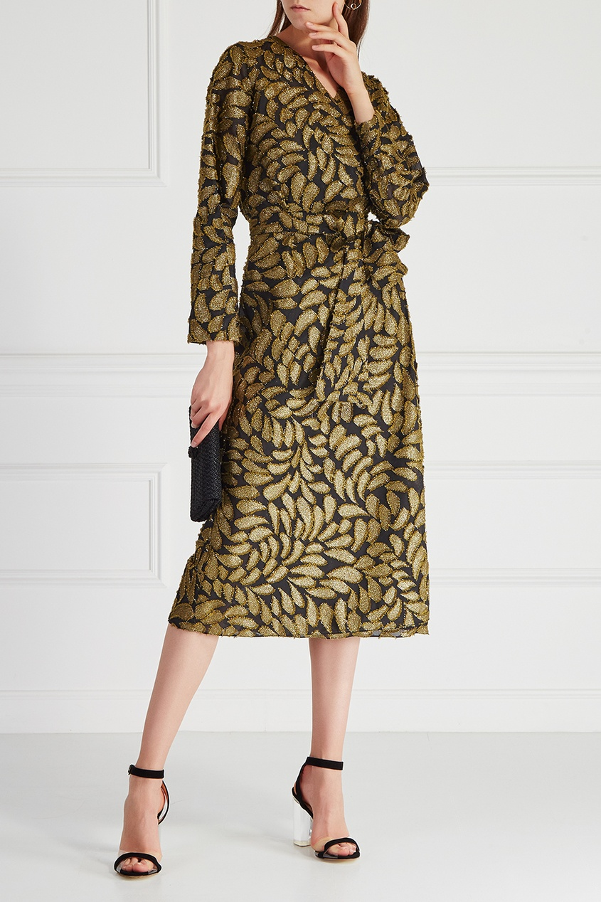 VIKTORIA IRBAIEVA Платье с запахом