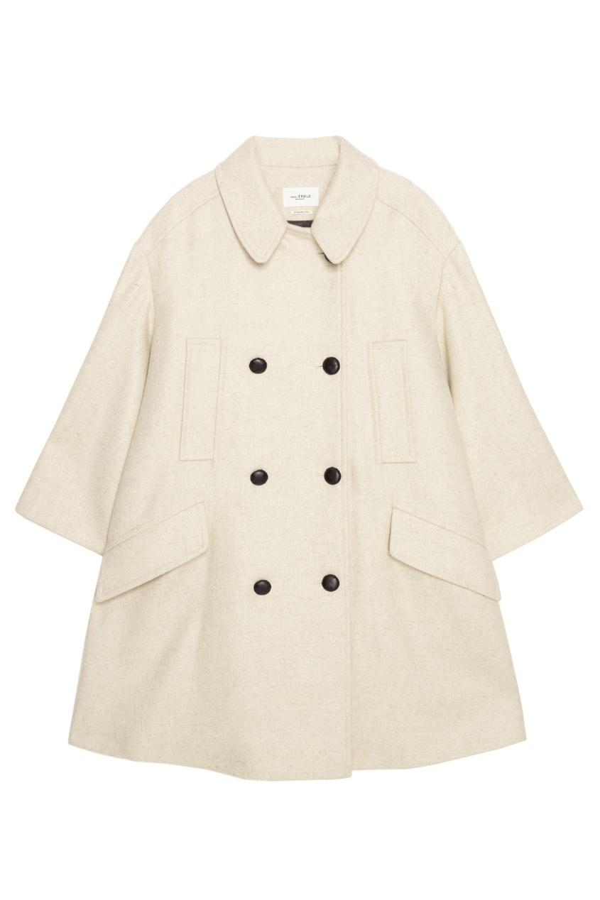 Isabel Marant Etoile Шерстяное пальто Flicka