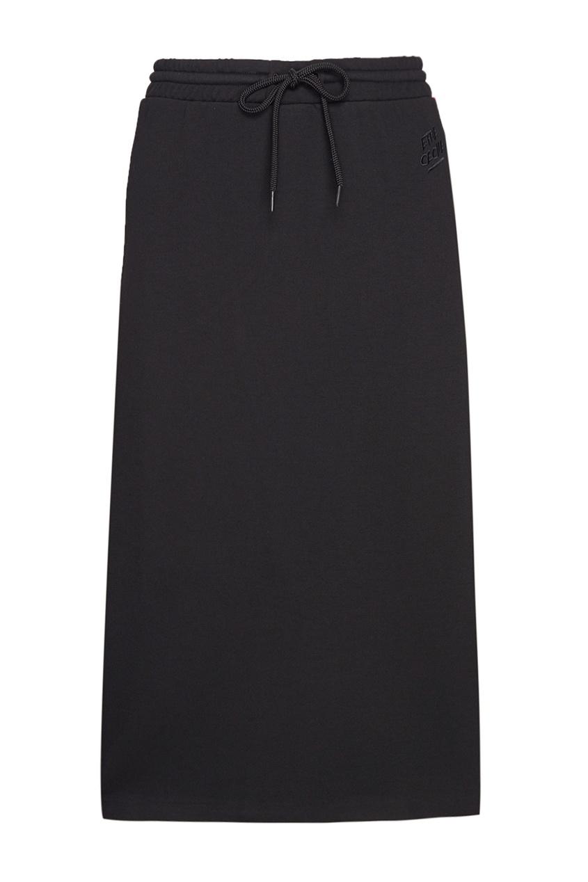 где купить Etre Cecile Однотонная юбка по лучшей цене