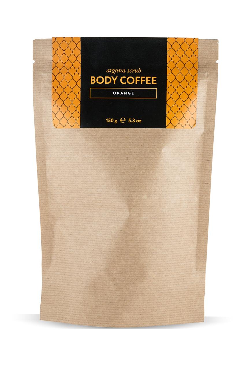 Аргановый скраб Body_Coffee Orange, 150 g