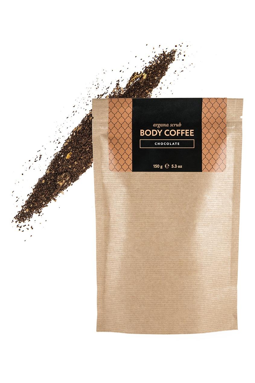 Huilargan Аргановый скраб Body_Coffee Chocolate, 150 g скрабы huilargan аргановый скраб кофе huilargan клубника со сливками 30 гр