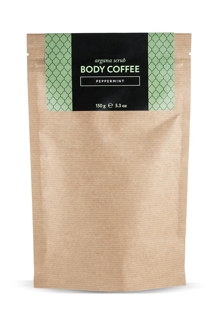 Huilargan Аргановый скраб Body_Coffee Peppermint, 150 g скрабы huilargan аргановый скраб кофе huilargan клубника со сливками 30 гр