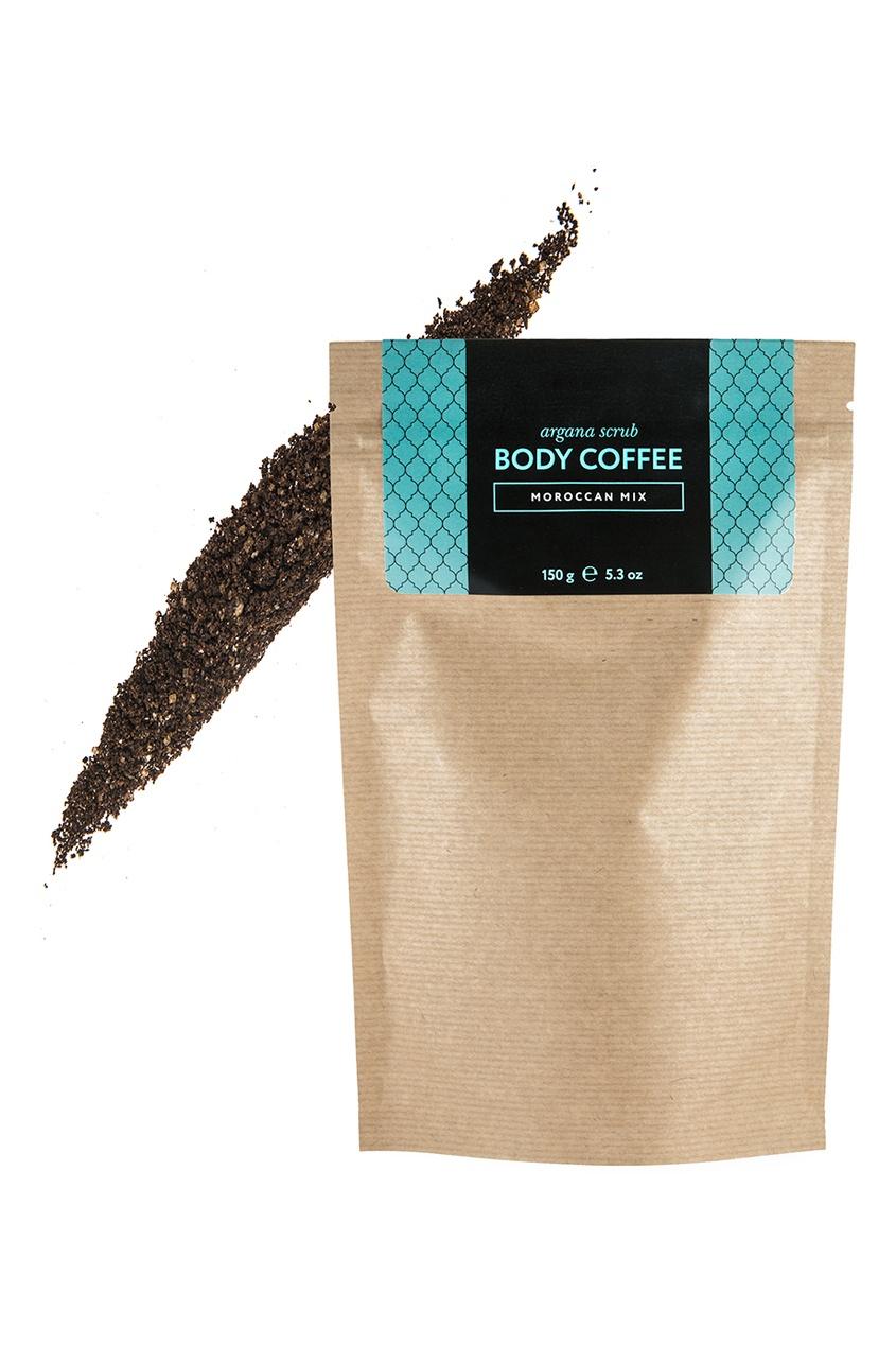 Huilargan Аргановый скраб Body_Coffee Moroccan Mix, 150 g скрабы huilargan аргановый скраб кофе huilargan клубника со сливками 30 гр