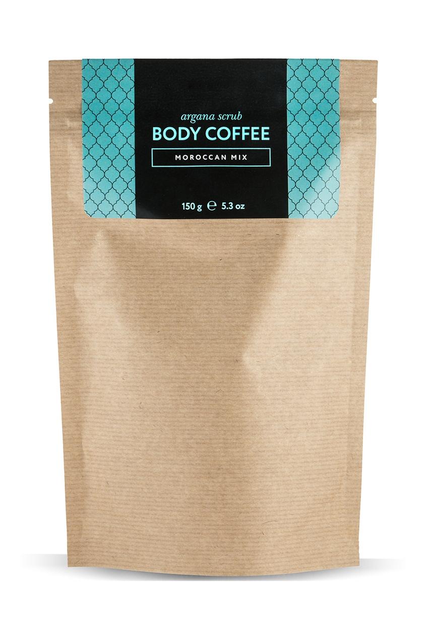 Аргановый скраб Body_Coffee Moroccan Mix, 150 g