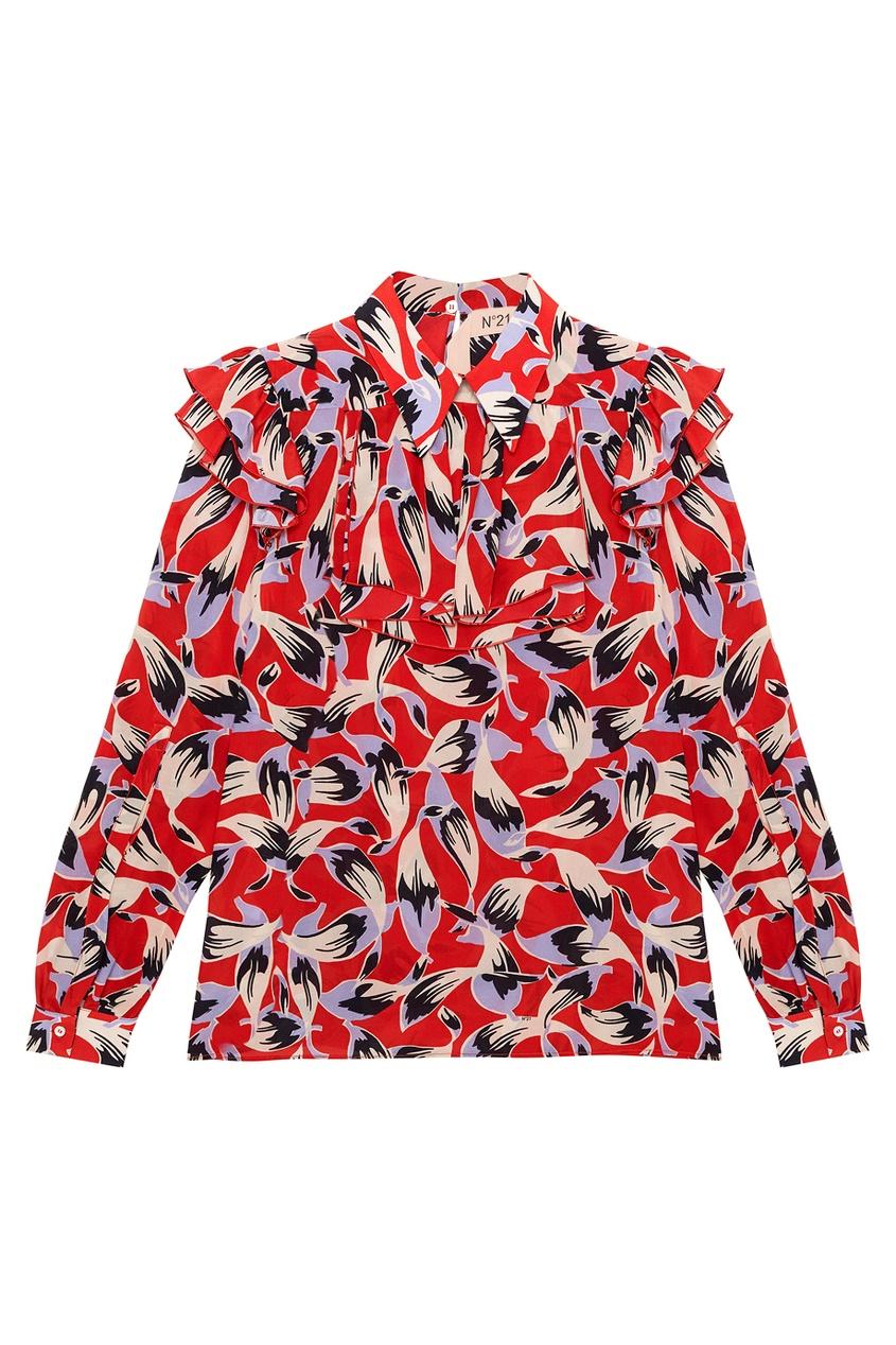No.21 Шелковая блузка