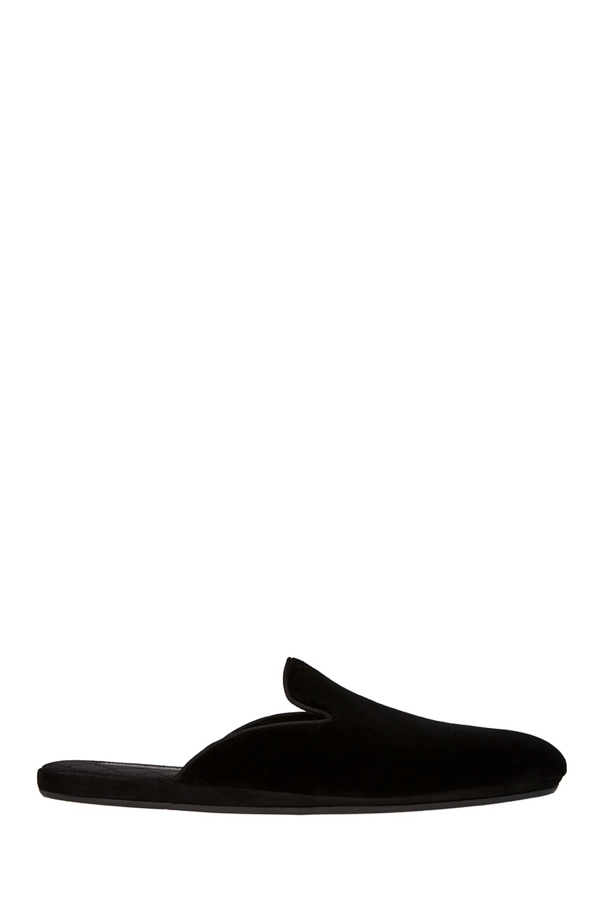 Dolce&Gabbana Бархатные слиперы слиперы beira rio слиперы