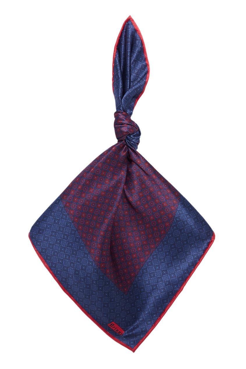 BRIONI Шелковый галстук и платок brioni спортивный костюм от brioni 72536
