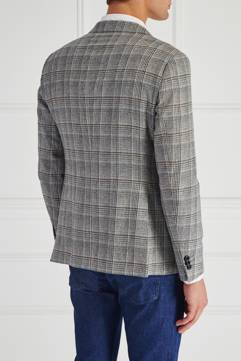 Купить со скидкой Шерстяной пиджак