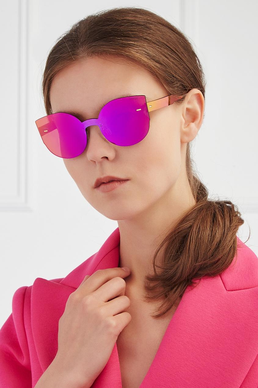 RETROSUPERFUTURE Солнцезащитные очки Tuttolente Lucia Pink n26 tuttolente lucia black regular