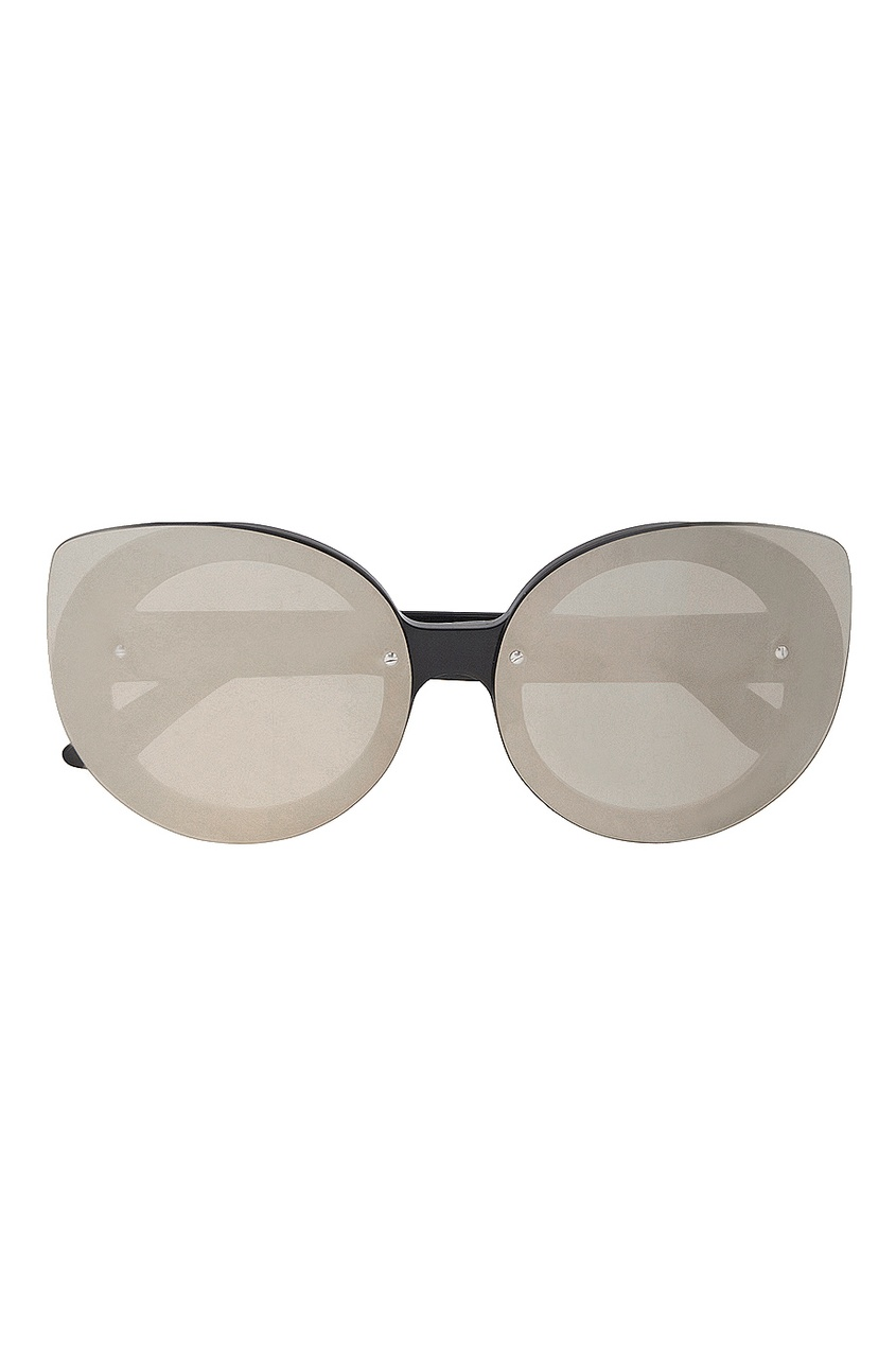 RETROSUPERFUTURE Солнцезащитные очки Rita Black Ivory очки солнцезащитные shred black green