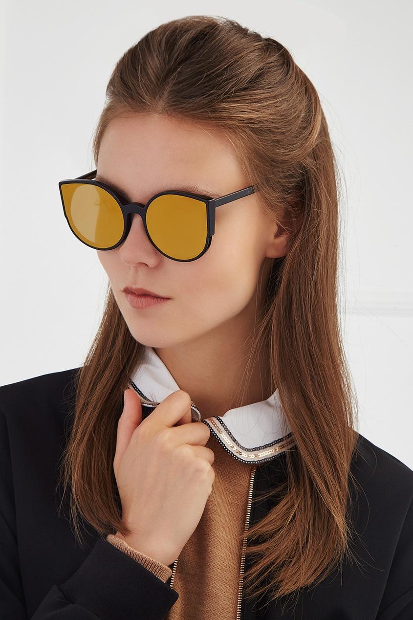RETROSUPERFUTURE Солнцезащитные очки Lucia Forma Gold очки с деревянной оправой киев