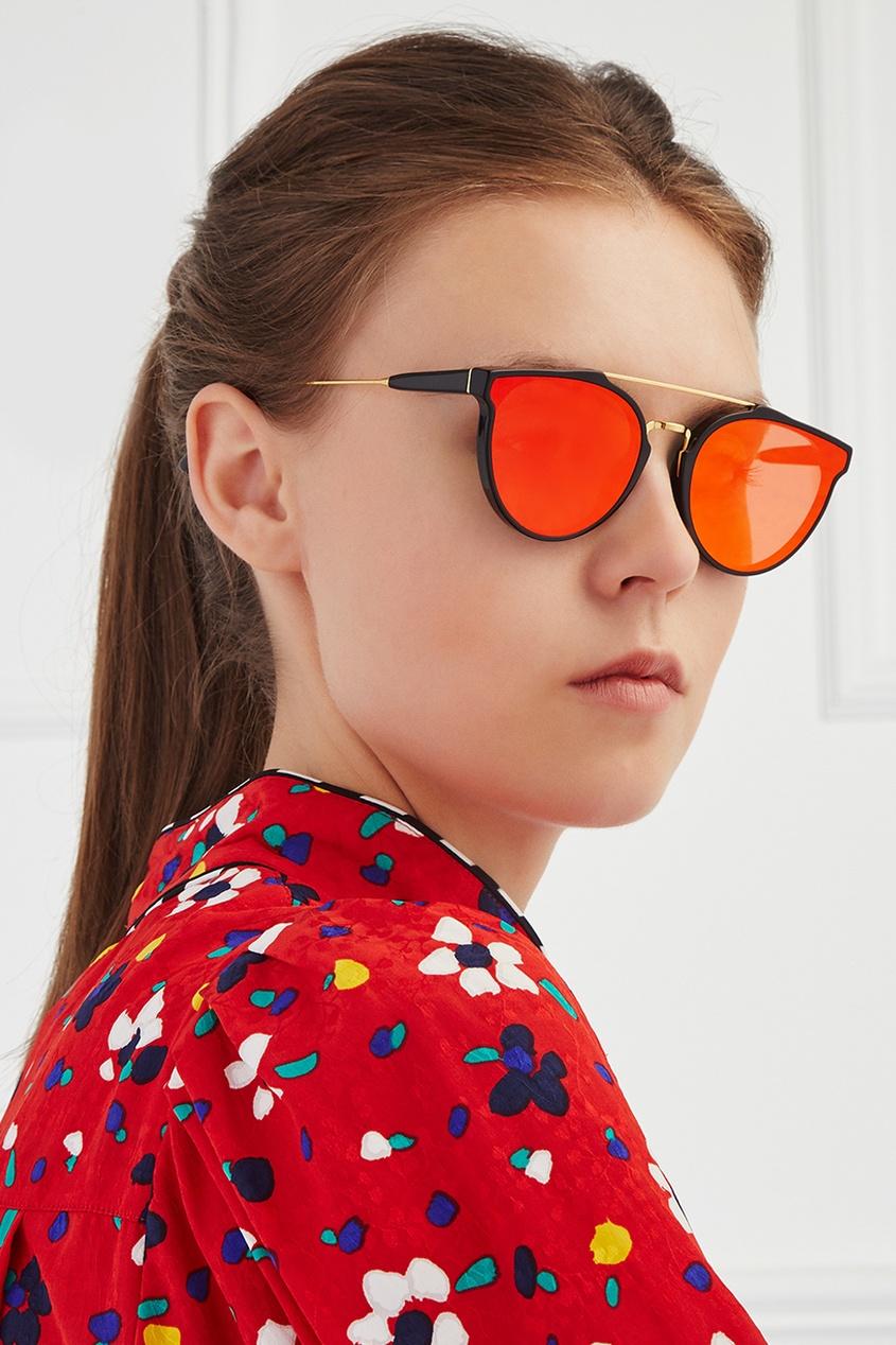 RETROSUPERFUTURE Солнцезащитные очки Giaguaro Forma Red vogue vogel очки черного кадра серебряного покрытия линза мода полной оправе очки vo5067sd w44s6g 56мм