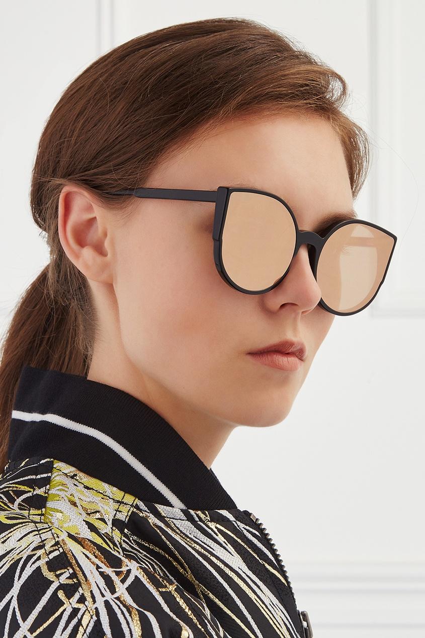 RETROSUPERFUTURE Солнцезащитные очки Lucia Forma Rose Gold очки с деревянной оправой киев