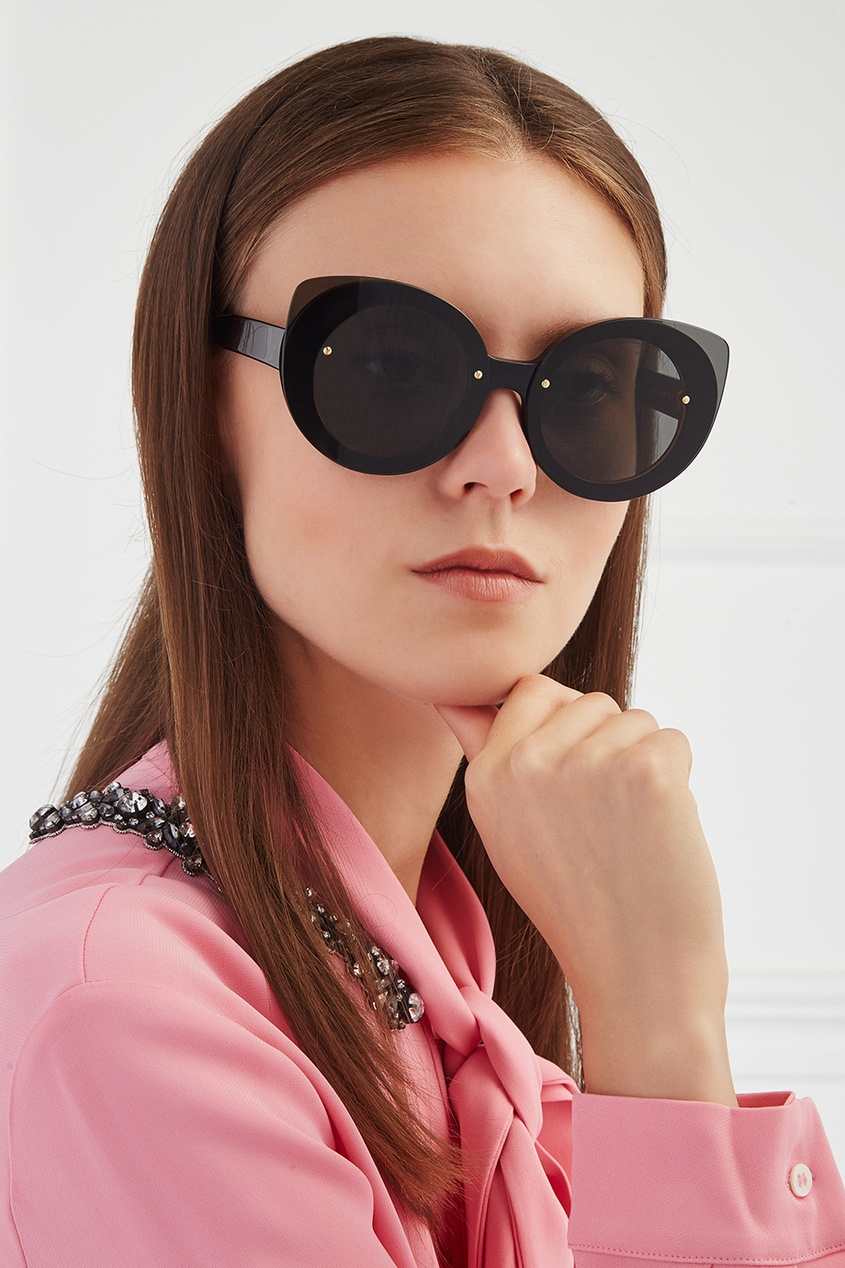 RETROSUPERFUTURE Солнцезащитные очки Rita Black retrosuperfuture солнцезащитные очки
